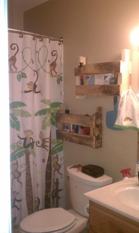 Original Pallet Towel Rack For Bathroom  101 Pallets