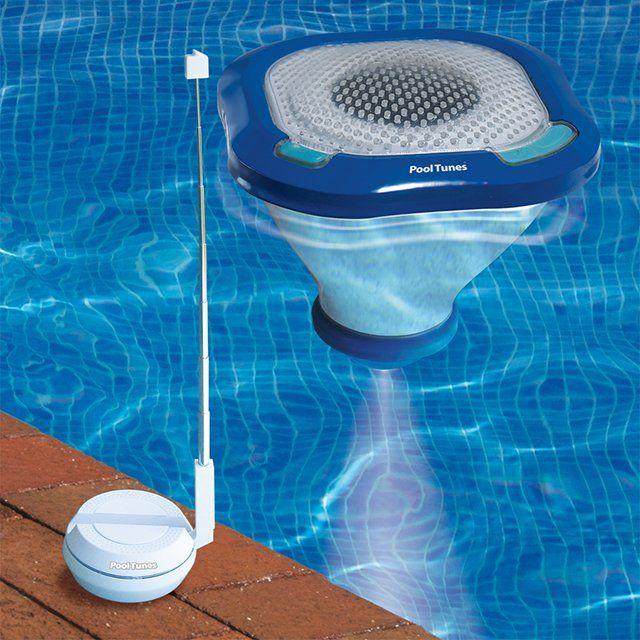 floating LED pool speakers