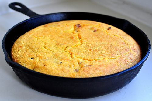 cook real Southern Corn Bread and that's in a cast iron skillet. Corn ...