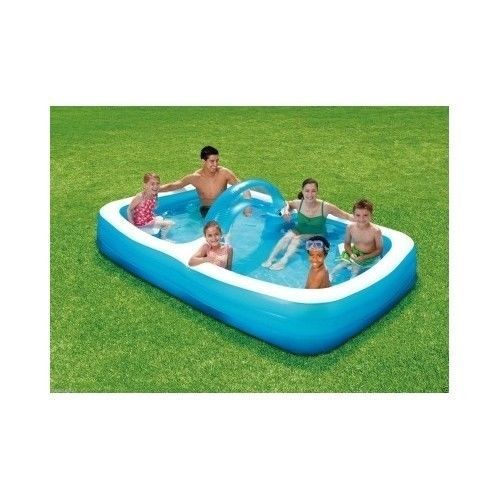Pools For Backyards Inflatable : New Inflatable Swimming Pool Backyard Family Summer Fun Kids Splash A