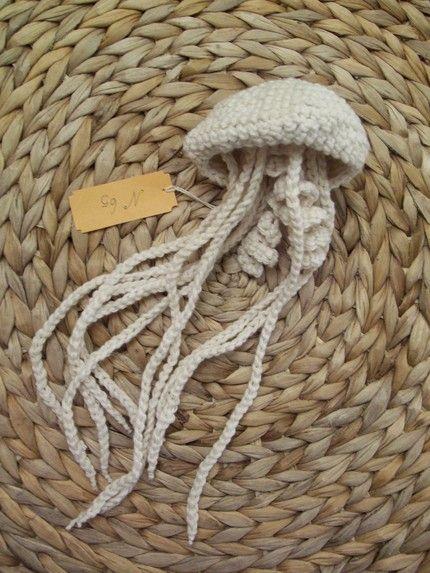 crochet jellyfish | crochet | Pinterest