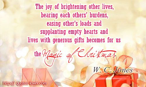 Christmas Quotes! | christmas quotes and sayings | Pinterest