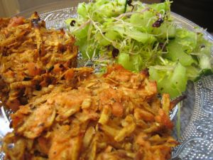 Potato and salmon rosti | Santé | Pinterest