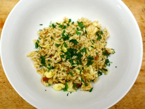 ... Tonight: Saffron Fried Rice with Dried Apricots and Almonds