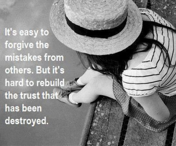 Quotes About Broken Trust In Friendship : Quotes about rebuilding friendship how to rebuild a broken