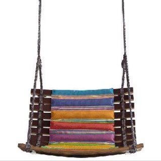 Swing chair by Missoni.