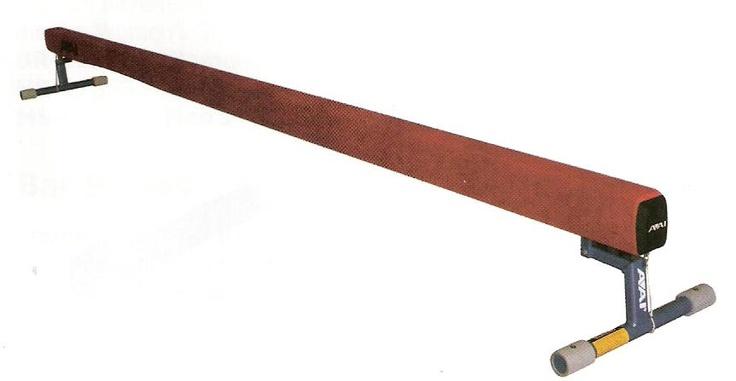how to make a homemade gymnastics beam