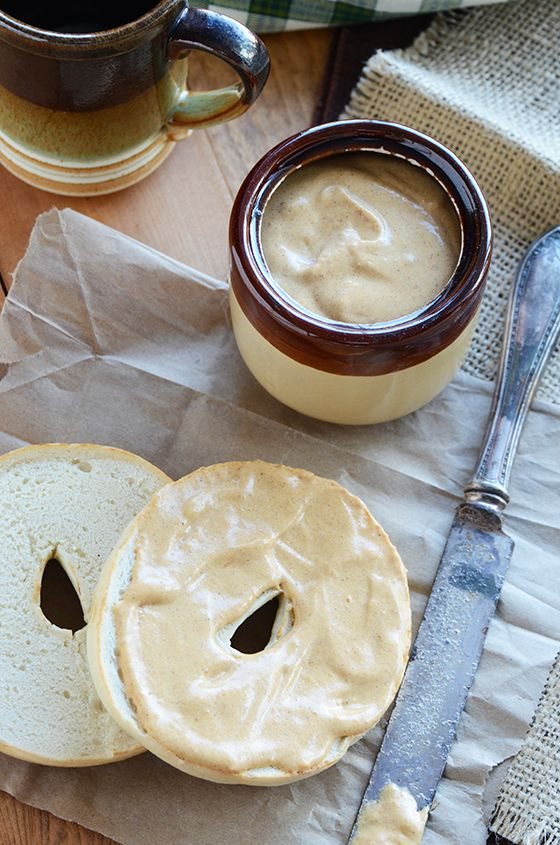 Cream Cheese Pumpkin Spice Spread...delicious spread on bagels or as a ...