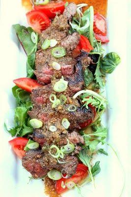 Ginger Steak Salad | Salads | Pinterest