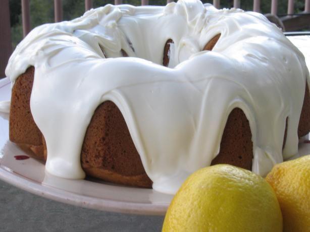 Super-Moist Cake Mix Lemon Pound Cake. Photo by Queen uh Cuisine