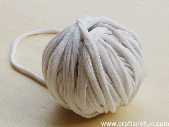 Step by step picture tutorial on how to make t-shirt yarn!