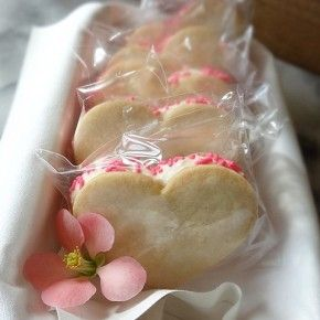 Valentine's Day Ice Cream Sandwiches (includes recipe for Meyer lemon ...