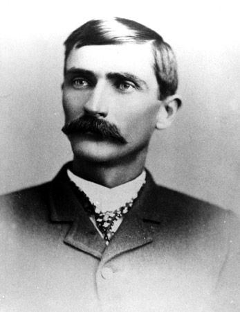 Pat Garrett, the Sheriff who tracked down and killed Billy the Kid.