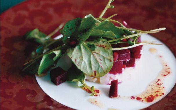 Lightly Smoked Beet Salad Recipe — Dishmaps