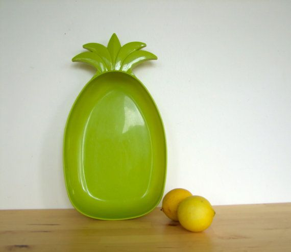 ... Lime Green Plastic Fantastic Pineapple Fruit by pegsemporium, $8.00