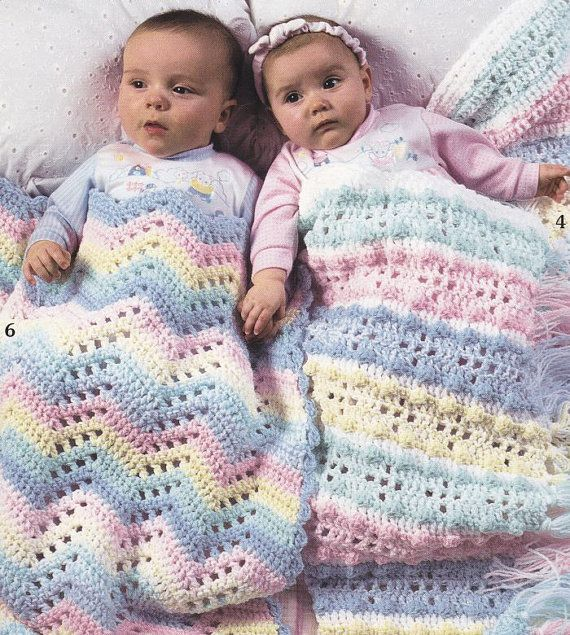 Baby Afghan Crochet Patterns - Double-Quick For Baby - 6 ...