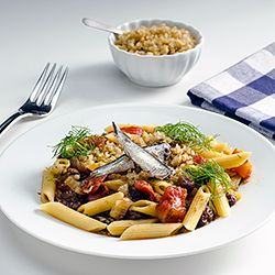 Pasta with Sardines and Fennel — this variation on Sicilian-style ...