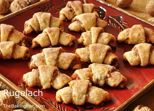 Rugelach Recipe (Kristen's fav recipe) | Food - Cookies, Cupcakes, Mu ...
