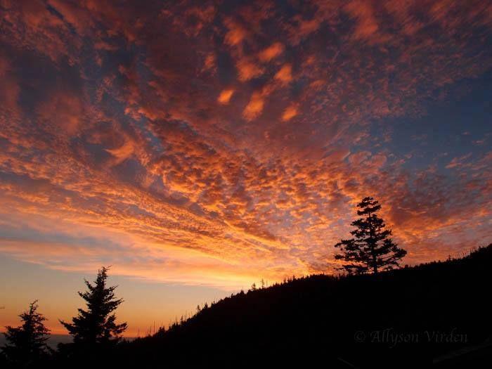 Sunset in the Smokey's at Gatlinburg, TN | USA - Tennessee/Gatlinburg ...: pinterest.com/pin/105975397455110227