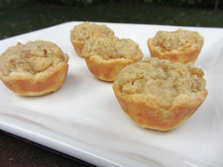 mini pumpkin tarts | Peggy Sue | Pinterest