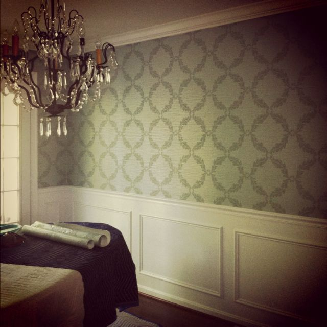 dining room wallpaper for the home pinterest