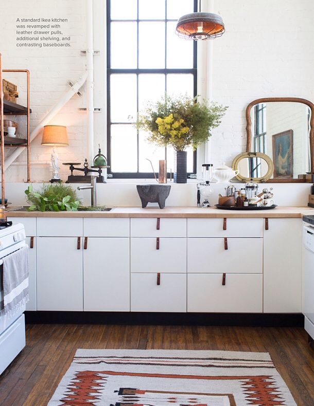 White kitchen cabinets with toe kicks
