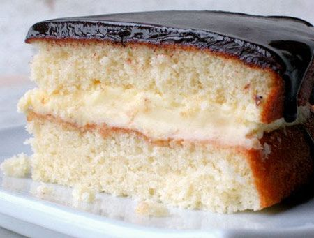 Classic Boston Cream Pie Recipe — Dishmaps