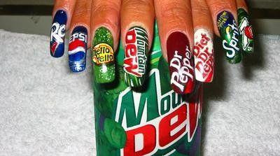 I take it they like coke...