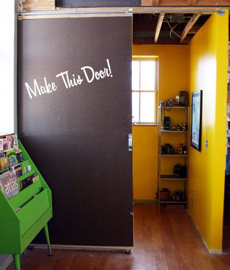 Build a Sliding door for the right price
