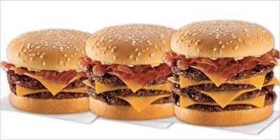 Burger King bacon cheeseburger | bacon | Pinterest