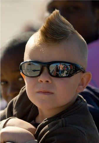 Cute Mohawk Hairstyle Bubby Boys Pins Pinterest