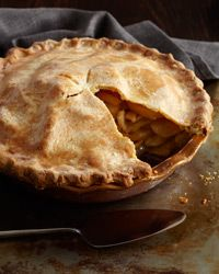 Deep Dish Apple Pie with Cheddar Crust