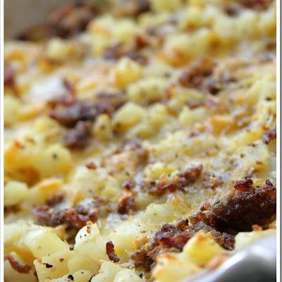 Cheesy Potato Breakfast Casserole   Yummy Food!   Pinterest