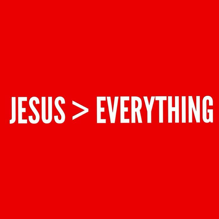 jesus is greater than everything youth for christ