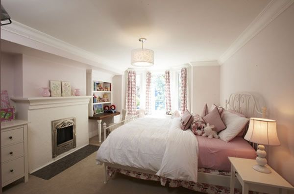 elegance light pink girls bedroom girly spaces pinterest