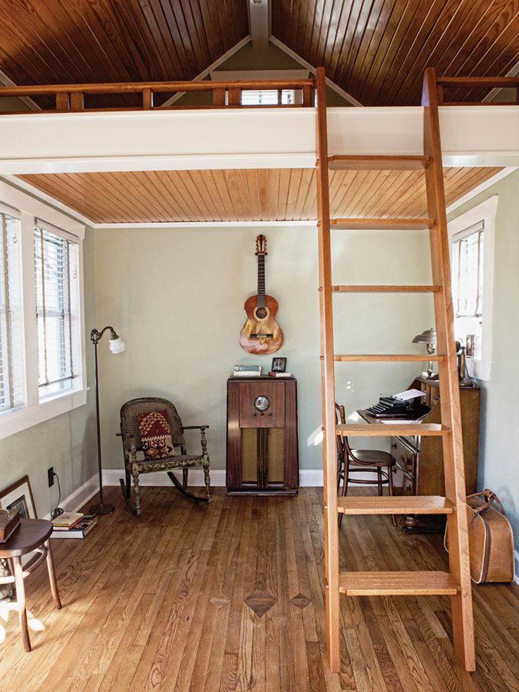 Tiny house tiny home pinterest Small homes with lofts