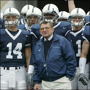 A living legend - the one, the only Joe Paterno!