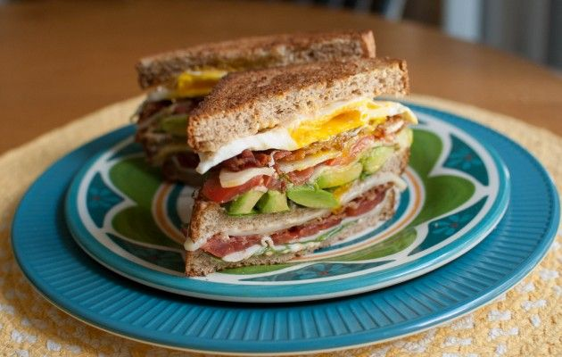 Club BLT with Avocado and Chipotle Mayo