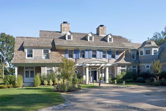 Nantucket Shingle Style Home Mountain Style Home Design