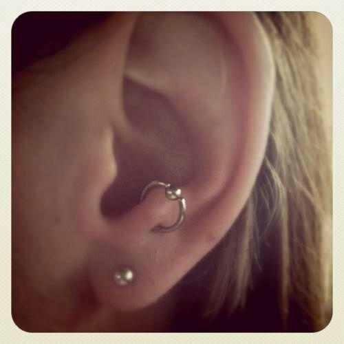 Antitragus Ear Piercings Anti Tragus