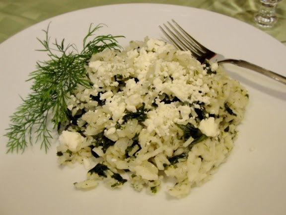 Spanakorizo - Greek Spinach Rice | GREEK | Pinterest