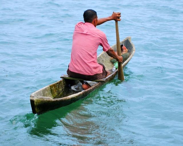 A Dugout Canoe in Bocas del Toro | Dugout Canoes | Pinterest