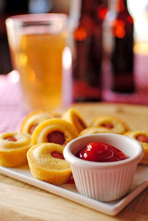 Mini Corn Dog Muffins. | Good eats, treats and other yummy stuff | Pi ...