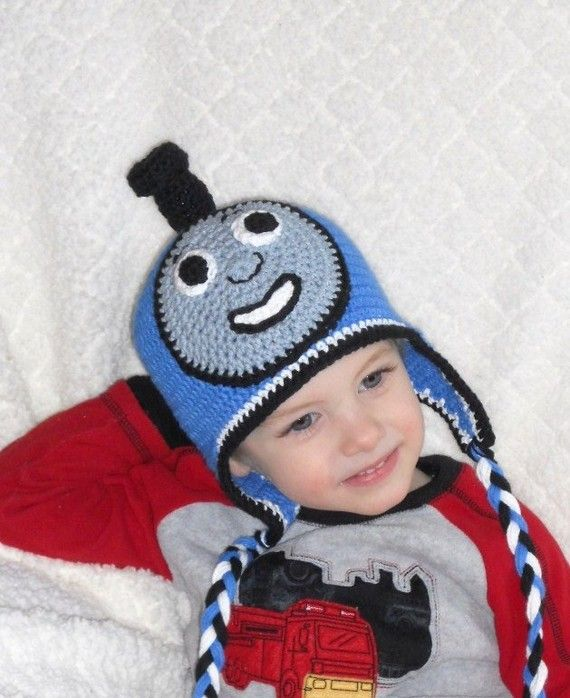 Free Crochet Hat Pattern For Thomas The Train : Pin by Whitney Stone on Fun Crocheting Pinterest