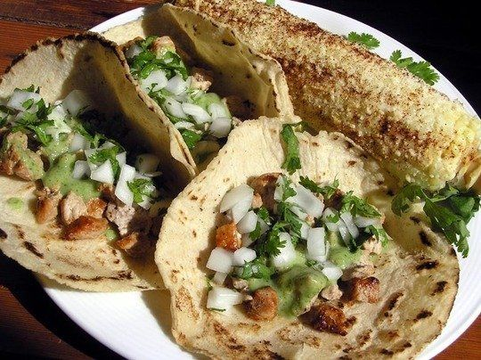 Brett's Cool and Spicy Avocado Pork Tacos Quick Weeknight Meals Recipe ...