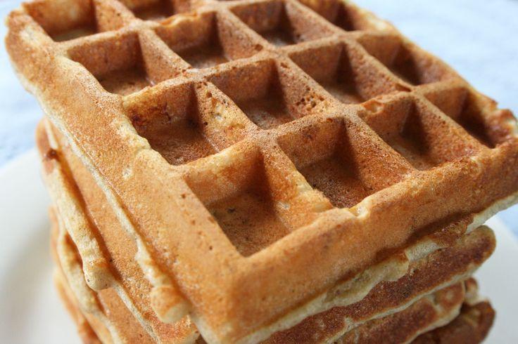 Banana Nut Waffles | Recipe