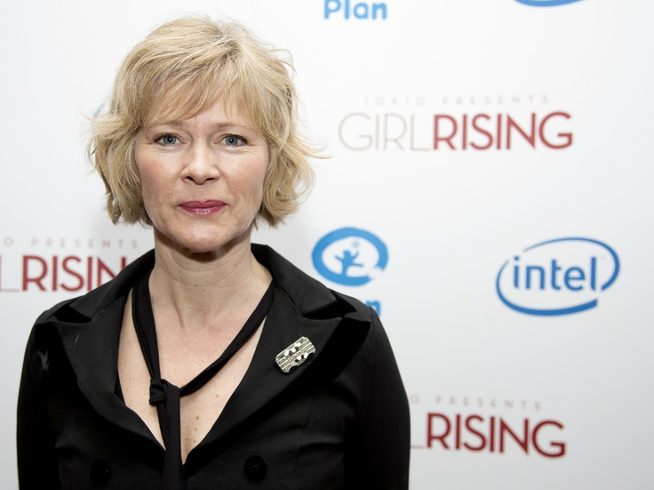 Clare holman british actress and long time supporter of plan uk