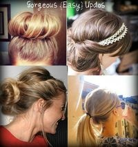 Easy Updos!