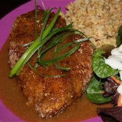 Bourbon Pecan Chicken Allrecipes.com (my picture) - I've made this a ...
