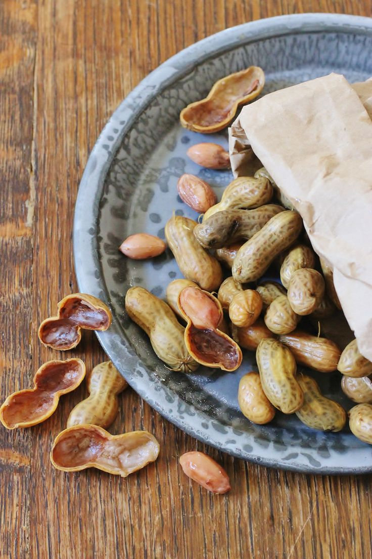 ... . Green peanuts are boiled in brine. #boiled #peanuts #southernfood